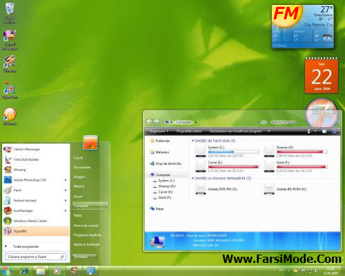 100 Themes For Windows7 %5BWww FarsiMode%20(3) دانلود مجموعه 100 تم ویندوز 7 Themes For Windows